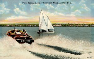 Boating at Morehead City, North Carolina