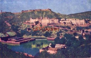 INDIA. AMBER FORT AND PALACE JAIPUR