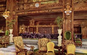 IL - Chicago. Hotel La Salle, The Office & Clerk's Desk   (Interior)
