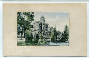 The Hospital Johannesburg South Africa 1910c postcard