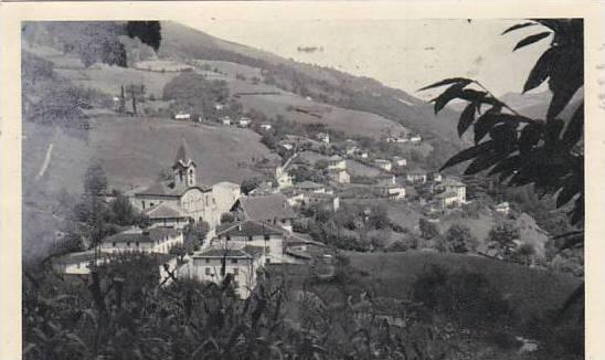 Spain Valcarlos Navarra Vista general Norte 1955