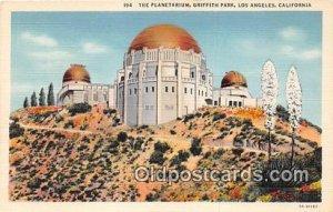 Planetarium, Griffith Park Space Los Angeles, CA, USA Unused