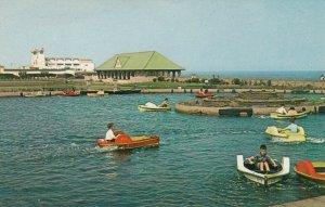 GREAT YARMOUTH, Norfolk, England, UK; 1950-60s; The Boating Lake