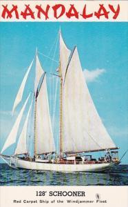 Schooner Mandalay Captain Mike Burke Red Carpet Ship Of Windjammer Fleet Miam...
