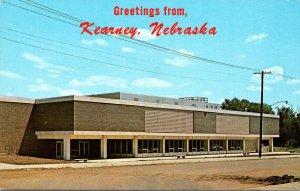 Nebraska Kearney Greetings Showing Food Center Kearney State College