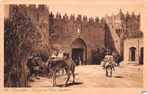 JerUSA lem Damascus Gate Israel Unused
