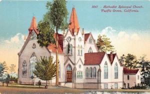 Pacific Grove California~Methodist Episcopal Church~c1910 Postcard