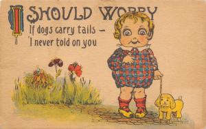 Comic Pun~If Dogs Carry Tails~I Never Told on You~Wide Eyed Girl~I Should Worry