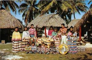 Seminole Indians Postcard Miami, FL, USA Florida Seminole Indians