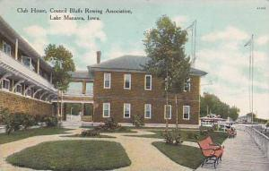 Club House, Council Bluffs Rowing Association, Lake Manawa, Iowa, PU-1909