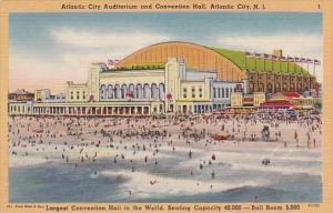 Atlantic City Auditorium and Convention Hall Atlantic City New Kersey