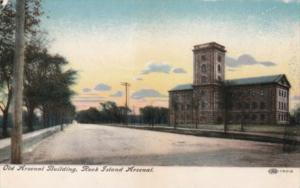Illinois Rock Island Arsenal Old Arsenal Building 1908