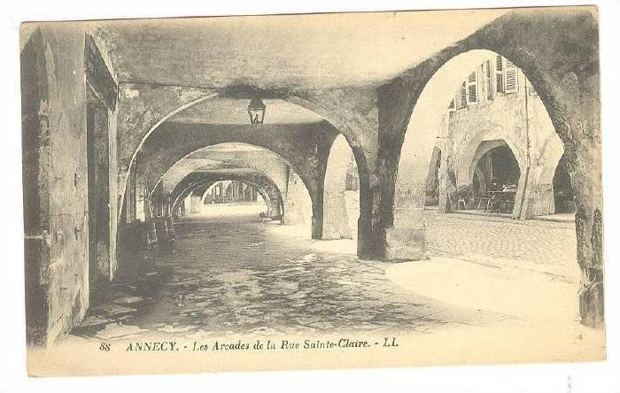 ANNECY , France , 00-10s , Les Arcades de la rue Sainte-Claire
