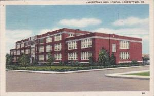 Maryland Hagerstown High School 1946