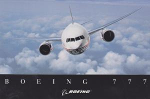 Boeing 777 Jet Airplane , 70-90s