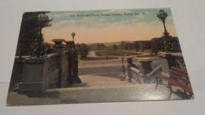 POSTCARD,KANSAS CITY,MO 1910 SUNKEN GARDENS $5.00