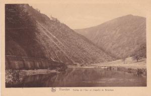 VIANDEN, Luxembourg, 1910-20s; Vallee de l'Our et chapelle de Bildchen