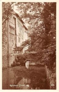 England Ightham Mote Moat, Kent