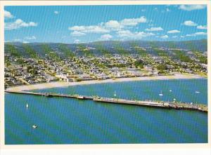 California Santa Cruz Municipal Wharf Aerial View