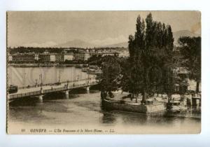 138342 Switzerland GENEVA Geneve L'Ile Rousseau et le Mont-Bla