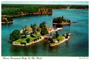 Canada  Thosand Islands Shortest International Bridge
