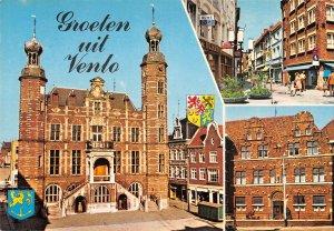 B110238 Netherlands groeten uit Venlo Town Hall Street Promenade