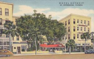 Hotel Detroit, St. Petersburg, Florida, 30-40s