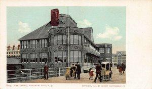 Casino, Atlantic City, N.J., 1904  Postcard, Unused, Detroit Photographic Co