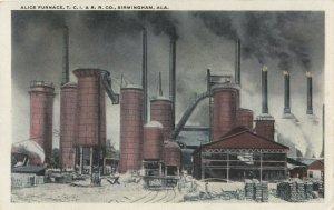 BIRMINGHAM , Alabama , 1910s ; Alice Furnace , T.C.I. & R.R. Co.