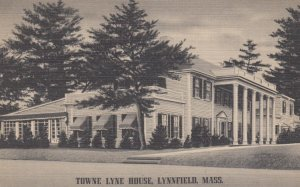 LYNNFIELD, Massachusetts, 1947; Towne Lyne House