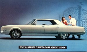 1967 Oldsmobile Ninety-Eight Holiday Sedan