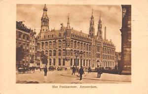 Netherlands Amsterdam Het Postkantoor 1908