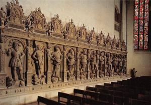 Stiftskirche in Stuttgart Grafenstandbilder Church Statues Eglise
