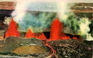 HI - Mauna Loa Volcano Eruption, 1950