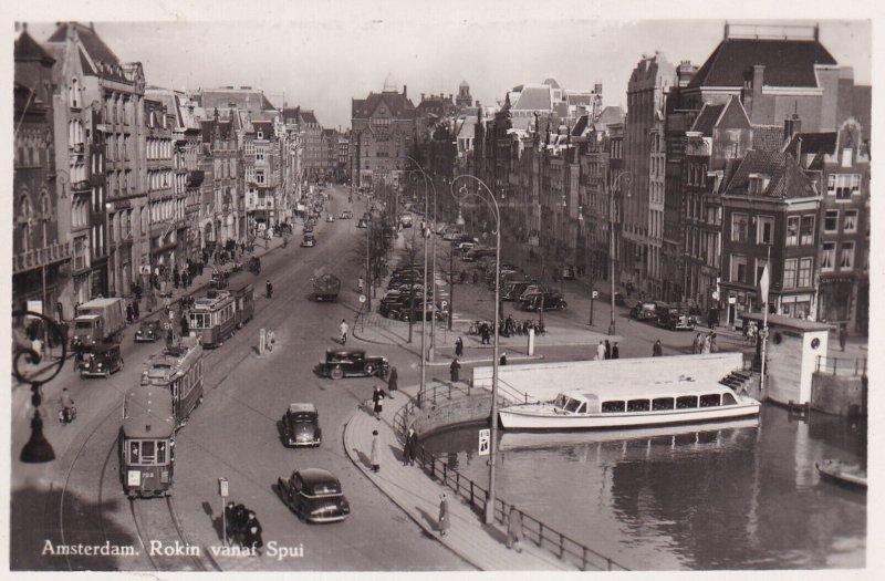 RP; AMSTERDAM, Noord-Holland, Netherlands, 1920-1940s; Rokin Vanaf Spui