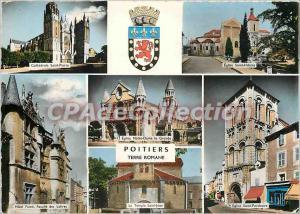 Modern Postcard Poitiers Earth Romane