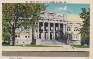 Virginia Marion Smyth County Court House