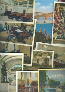 cpc04 postcard collection Utah FIFTY
