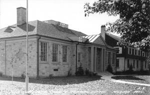 Algoma Wisconsin~Door-Kewaunee County College Normal School~Is Library~1940 RPPC