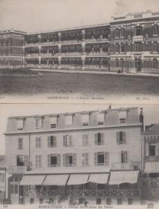 Berck Plage L'Hopital Maritime Institut Notre Dame Des Sables 2x Old Postcard s