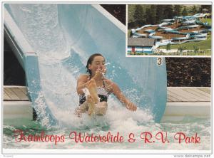 Kamloops Waterslide and R.V. Park, KAMLOOPS, British Columbia, Canada, 50-70´s