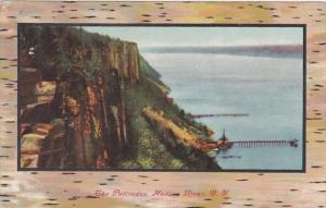 New York The Palisades On The Hudson River 1909