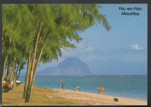 Mauritius Postcard - From The Beach of Flic-En-Flac, Pirogue Hotel   T4168