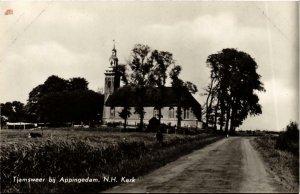 CPA TJAMSWEER bij APPINGEDAM N.H. Kerk NETHERLANDS (705992)