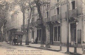 DIGNE , Alpes De Haute Provence , France, PU-1910 ; Grand Hotel REMUSAT