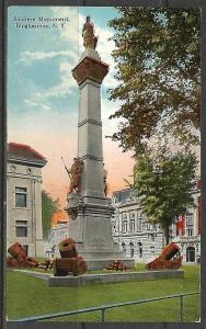 New York, Binghamton - Soldiers' Monument - [NY-046]