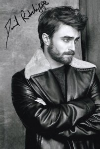 Daniel Radcliffe Harry Potter Hand Signed Photo