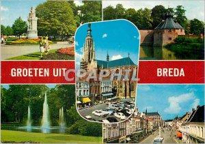 Modern Postcards Groeten Uit Breda