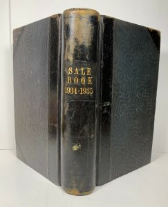 Sale Book Ledger 1934 1935 Grain Wholesaler Unknown Location Possibly UK