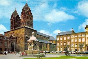 Belgium Liege Church Kirche L'Eglise St-Barthelemy Auto Cars Voitures